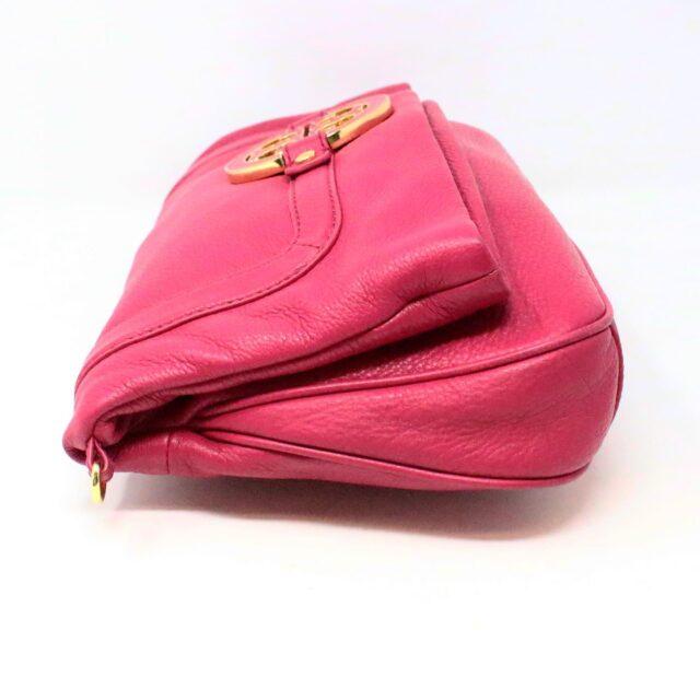 TORY BURCH 31431 Pink Leather Amanda Clutch Crossbody Wallet SET 3