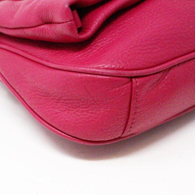 TORY BURCH 31431 Pink Leather Amanda Clutch Crossbody Wallet SET 6