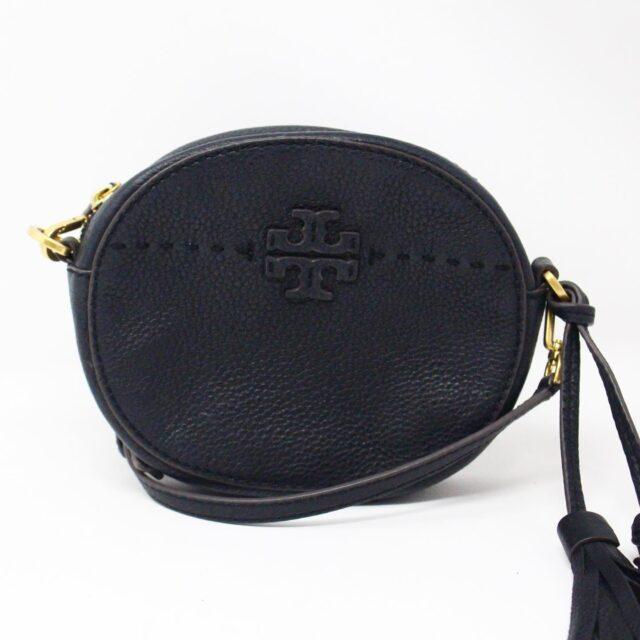 TORY BURCH 31549 Black Leather McGraw Crossbody 1