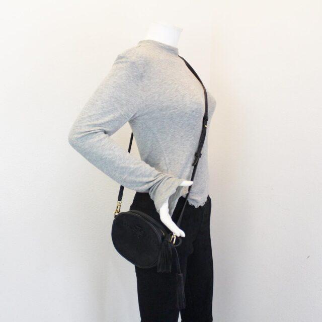 TORY BURCH 31549 Black Leather McGraw Crossbody 10
