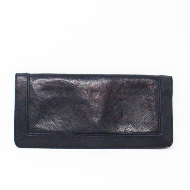 TORY BURCH 31662 Black Leather Wallet Clutch 2
